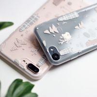 冇心原创  iPhone7/8手机壳乐园森林TPU苹果6/8Plus文艺可爱保护