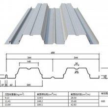 十堰市压型钢板厂家(YX76-344-688型)开口楼承板规格齐全