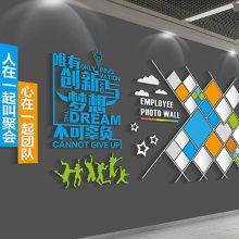 常州展览搭建制作 企业员工风采墙安装 场景布置