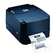 台半(TSC)TTP-243E热敏式热转式条码打印机快递面单服装吊牌固定资产管理标签打印