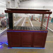 广州鼎尊鱼缸厂家供应小型中型大型铝合金底柜玻璃鱼缸