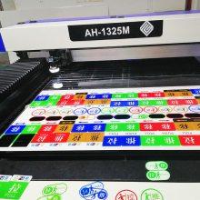 深圳厂家高精平板UV打印亚克力标识牌亚克力推拉牌量大价优