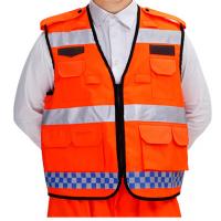 西安工装马甲背心定做 超市背心 志愿者马甲 普通纯色 宽松型 不连帽 可印字