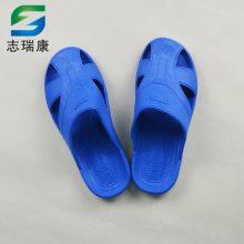 厂家直销蓝色护趾拖鞋 无尘车间SPU鞋子