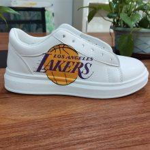 东莞成品鞋不规则面喷绘设备 理光高落差鞋子UV打印机