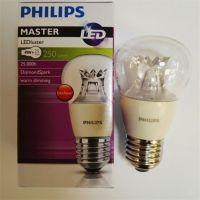 飞利浦4W LED可调光蜡烛尖泡拉尾泡