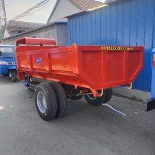 建筑工地后卸式农用新型三轮车/ 电启动自卸式三轮车三蹦子三马子