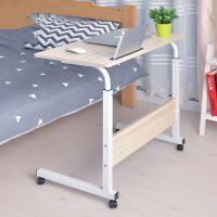 活动床边电脑桌可移动床用组合升降大学生台式学生置物架多功能