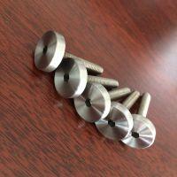 金聚进 供应不锈钢栏杆装饰钉 玻璃夹螺丝 不锈钢广告钉 量大优惠