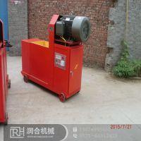 节能木炭机推进器 稻壳制棒机 润合优质50型压制木炭机