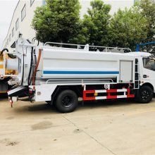 市政环卫车厂家推荐6方联合疏通车 下水道吸污疏通车