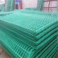 铁丝网围栏 涂塑铁丝网 双边防护网