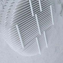 玻璃钢脱硫塔PP除雾器FRP除雾器除沫器收水器水雾分离器