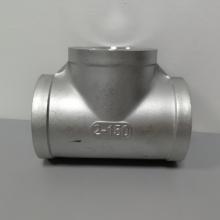 304不锈钢三通 丝扣不锈钢三通DN50 2寸铸件三通
