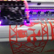 橱窗透明广告贴纸定制商场玻璃墙广告装饰贴纸UV彩白彩喷绘