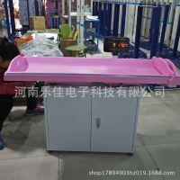 卧式平躺测量婴幼儿身高体重的电子秤,婴儿身长体重测量仪器
