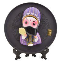 老北京民俗特色礼品传统手工艺品泥人泥塑摆件外贸商务收藏脸谱