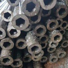 专业生产16mn小口径精轧六角钢管 实心六角钢 实心钢棒山东聊城