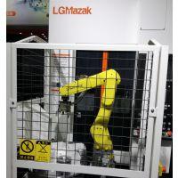天津数控车床机器人-多联机桁架机械手-CNC上下料机器人