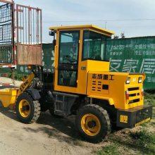 工程混泥土装载机使用视频 柴油四驱装载机 建筑专用大型铲车