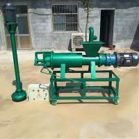 鸡粪牛粪干湿分离机价格 养殖养猪设备固液分离机型号