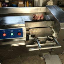 全自动瘦肉切丁机生产厂家鑫鹏牌切块切条设备