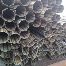 山东河北异型管厂家@冷拔镀锌凹槽异型管@打包机管规格表