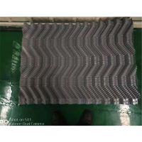 冷却塔降温散热填料 S波型冷却塔电厂填料 颜色蓝色黑色白色 品牌华庆