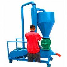 饲料颗粒气力吸粮机 不锈钢化工粉气力输送机 仓库散颗粒软管吸粮机