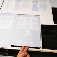 异形亚克力标识牌定制亚克力垃圾分类牌平板UV彩印定制