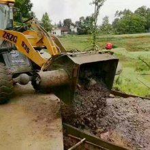 混凝土搅拌斗 旧铲车改装下开口搅拌斗方案