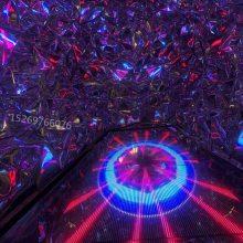 青岛三代梦幻钻石隧道不一样的审美视觉冲击现代化的绚丽灯光