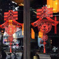 深圳UV白彩 办公玻璃门防撞条镂空腰线贴 雪花透明贴纸