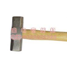 铁榔头八角锤木柄大磅锤石工锤铁锤铁榔头方头大锤砸墙拆墙工具