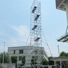 工程装修直爬铝合金折叠式脚手架184-2015-0310脚手架配件批发