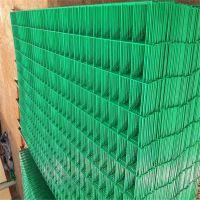水塘防护围网 圈地双边丝护栏网 铁丝护栏网颜色