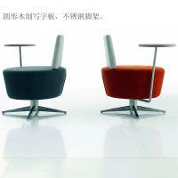供应深圳家具SO-061布艺多功能沙发洽谈培训椅
