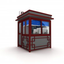 长沙岗亭价格,制作小区物业保安亭款式-管理治安岗亭供应