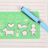 清新创意幼儿园万花尺子儿童绘画模板尺美术画画套装diy工具