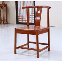 仿古牛角椅围椅卷书椅方靠背椅休闲椅鼓凳茶字登官帽椅厂家直销