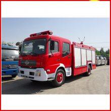 大型化工厂配东风8吨泡沫消防车顺利通过检查