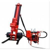 烟台市精恒链条式潜孔钻机视频 小型潜孔钻机操作说明