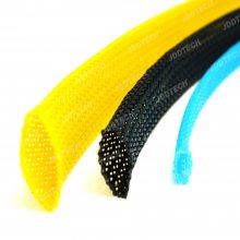 骏鼎达PET编织网管线束保护套管阻燃电线绝缘 套管