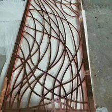 临沂不锈钢装饰花格厂家订制钛金花格