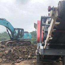 山东厂家移动石料破碎机 环保石子破碎机可分期付款