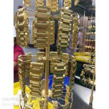承接不锈钢饰品电镀加工 金属表面真空电镀处理五金电镀