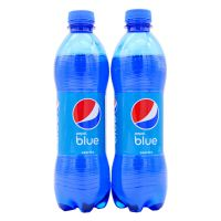 印尼进口 网红蓝色百事可乐蓝瓶450ml 进口碳酸饮料 饮品批发