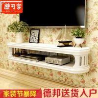 墙上置物架书架电视机顶盒背景墙壁挂吊柜厨房客厅卧室实木板隔板