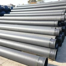 供应安徽钢带波纹管 塑钢缠绕管 PE给水管型号齐全
