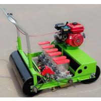 多行蔬菜精播机汽油手推蔬菜播种机 宏程蔬菜精播机